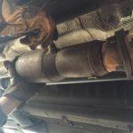 Установка ремонтного катализатора